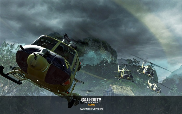 Call of Duty 7 Black Ops HD Games Wallpapers-Three Series 22 Views:4326