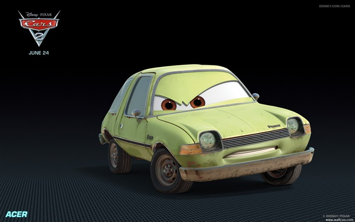 Cars2 HD Movie Wallpapers 01 Views:9160