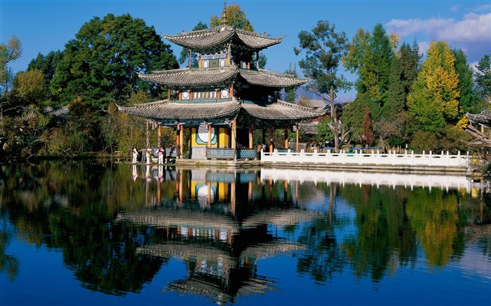Chinese classical kiosk-the worlds nature photography Views:7452