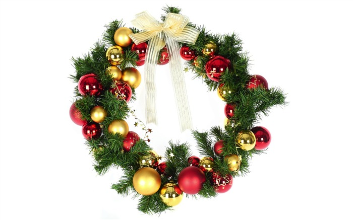 Christmas Wreath with baubles Picture Views:21386