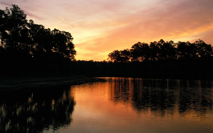 Dusk the lake-the worlds nature photography Views:6471