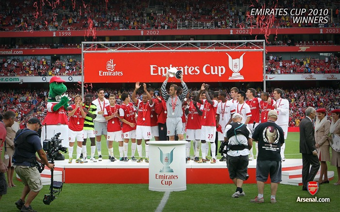 Premiership-Arsenal 2010-11 season Wallpaper Views:18693
