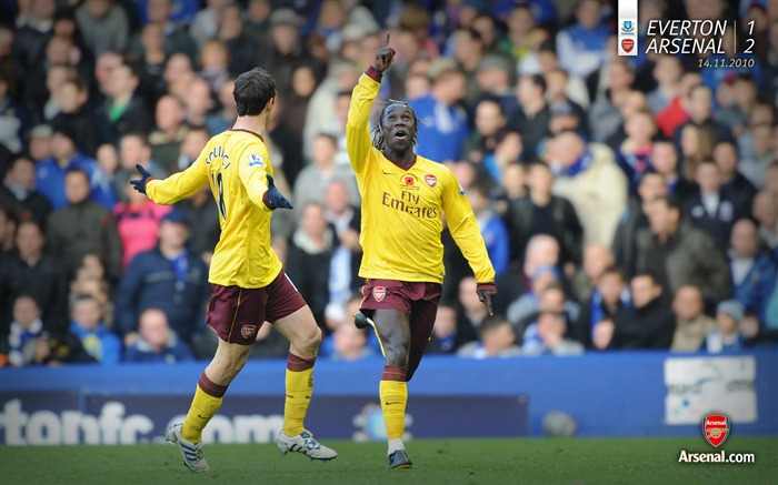 Everton 1-2 Arsenal Wallpaper Views:6581 Date:7/11/2011 7:21:17 AM