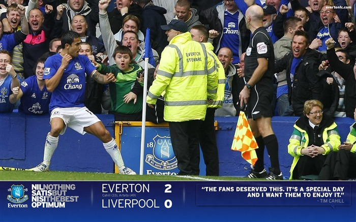 Everton 2-0 Liverpool-Cahill Wallpaper 01 Views:7237 Date:7/18/2011 5:31:57 PM