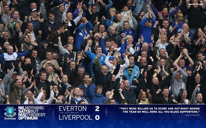 Everton 2-0 Liverpool-Moyes Wallpaper 01 Views:7149 Date:7/18/2011 5:32:14 PM