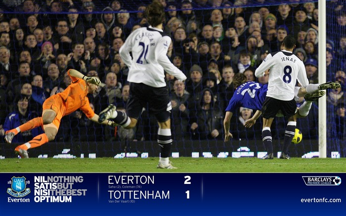 Everton 2-1 Spurs-Coleman wallpaper Views:7180 Date:7/18/2011 5:32:30 PM