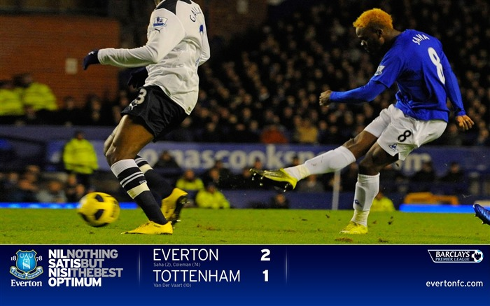 Everton 2-1 Spurs-Saha wallpaper Views:7036 Date:7/18/2011 5:32:55 PM