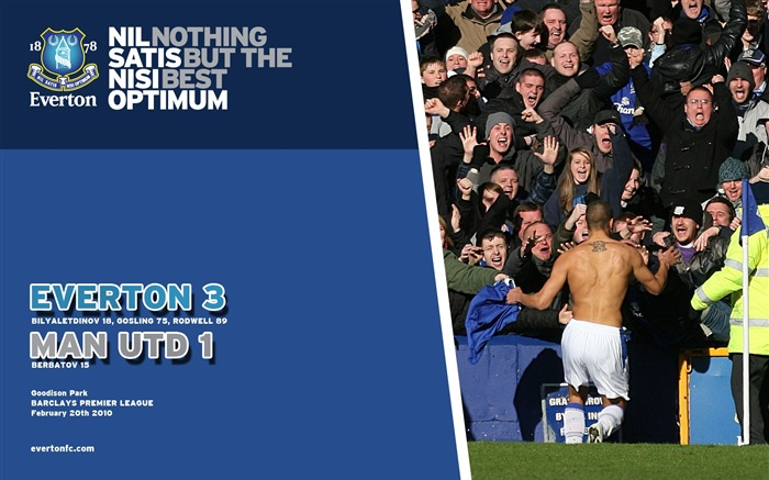 Everton 3-1 Man Utd Wallpaper Views:7987 Date:7/18/2011 5:33:26 PM
