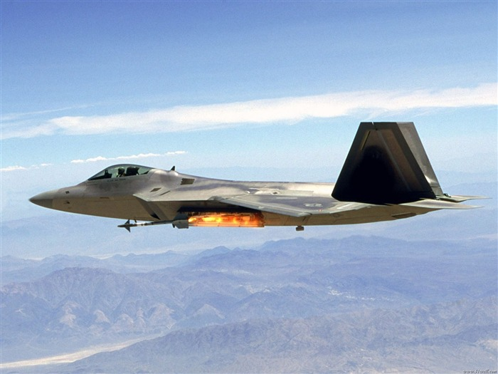 F-22 Raptor fighter wallpaper Views:14415