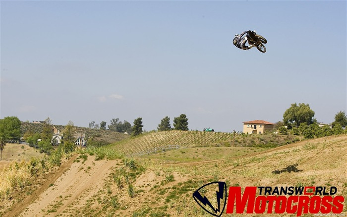 FMX motocross stunt fancy wallpaper 04 Views:6005