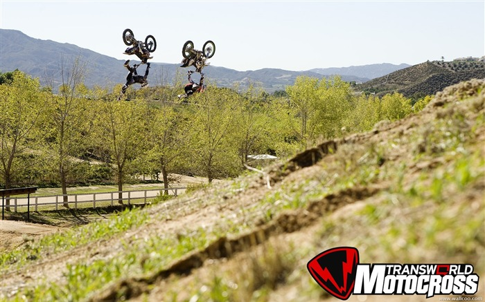 FMX motocross stunt fancy wallpaper 25 Views:3811