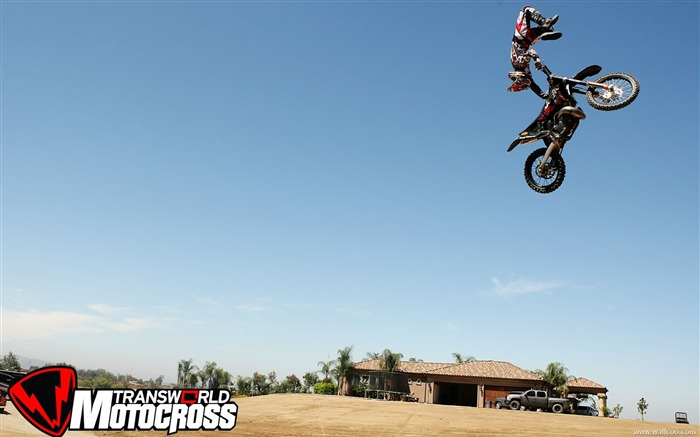 FMX motocross stunt fancy wallpaper 27 Views:5464