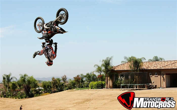FMX motocross stunt fancy wallpaper 30 Views:3999