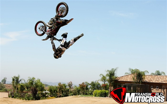 FMX motocross stunt fancy wallpaper 31 Views:4930