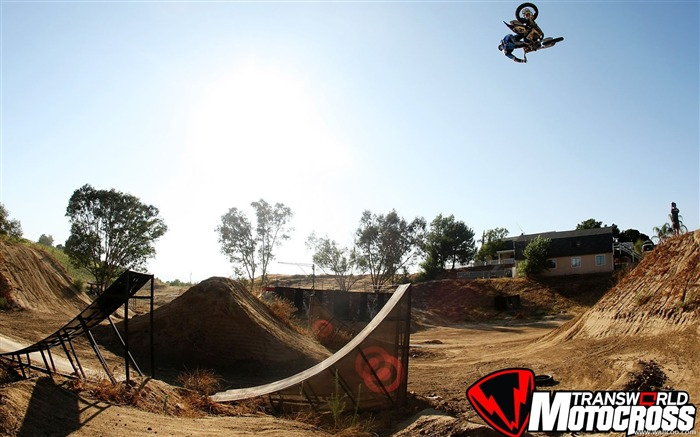 FMX motocross stunt fancy wallpaper 38 Views:5791