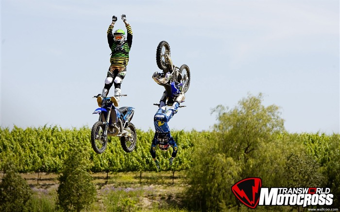 FMX motocross stunt fancy wallpaper 42 Views:8138