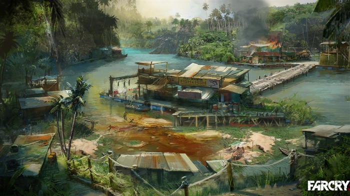 Far Cry 3 Game HD Wallpaper 06 Views:28107