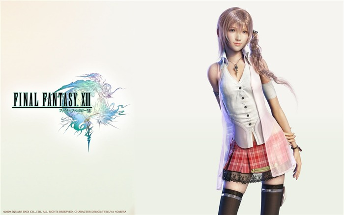 Final Fantasy 13 HD Games Wallpapers Views:17865