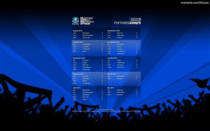 Fixtures 2010-11 wallpaper Views:5599 Date:7/18/2011 5:35:05 PM