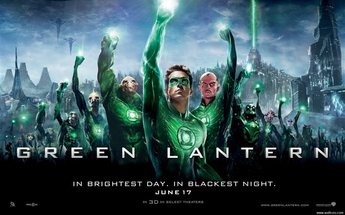 Green Lantern movie poster wallpaper Views:9266
