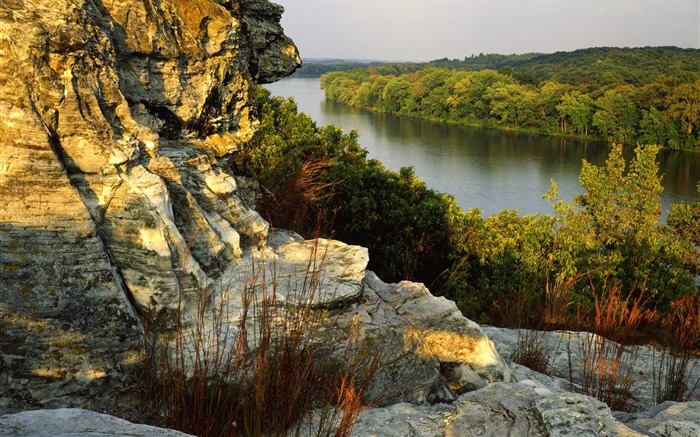 Illinois- Castle Rock State Park wallpaper Views:4396