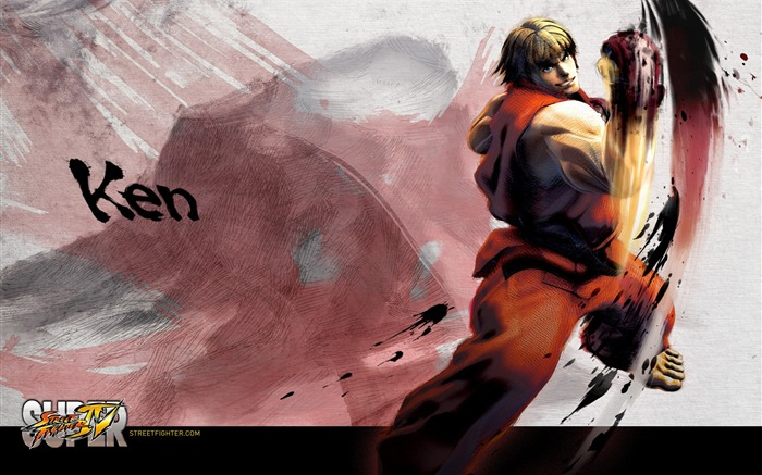 Super Street Fighter 4 original painting HD wallpaper Views:41957