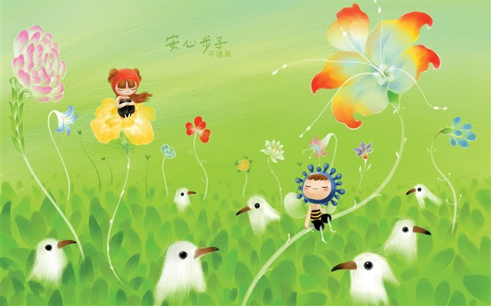 King of Taiwan is not beautiful illustrator illustrator wallpaper - ease the pace Views:12512