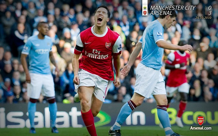Manchester City 0-3 Arsenal Wallpaper Views:9819 Date:7/11/2011 7:22:14 AM