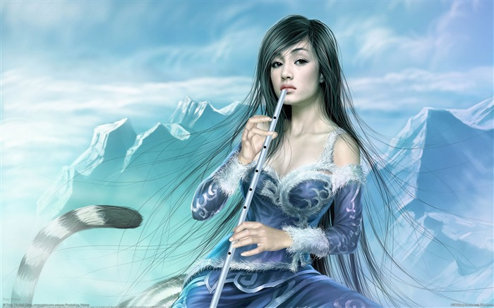 Master Tang Yuehui CG illustration style paintings myth Views:12077