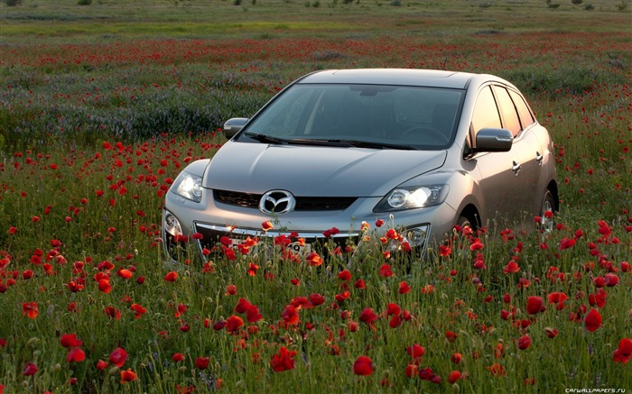 Mazda CX-7 - 2010 models SUV Wallpaper first series 05 Views:5724