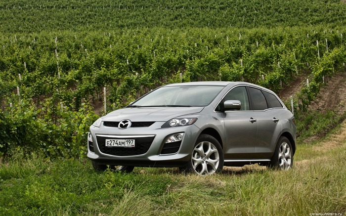Mazda CX-7 - 2010 models SUV Wallpaper first series 07 Views:5570