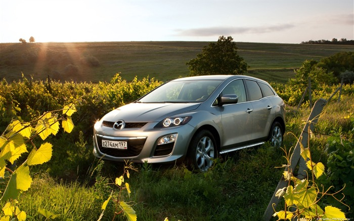 Mazda CX-7 - 2010 models SUV Wallpaper first series 11 Views:5516