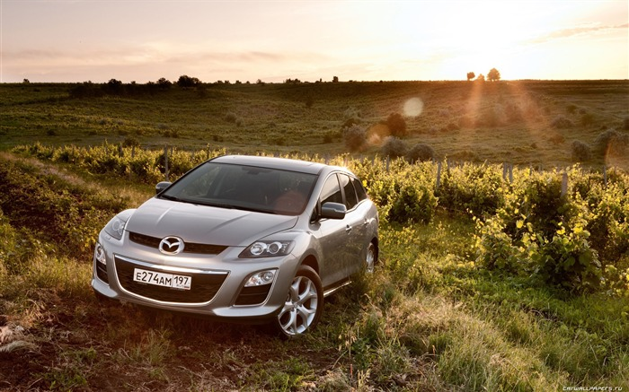 Mazda CX-7 - 2010 models SUV Wallpaper first series Views:7936