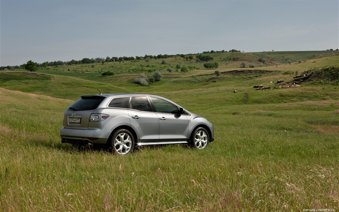 Mazda CX-7 - 2010 models SUV Wallpaper first series 20 Views:5537