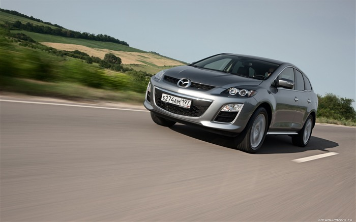 Mazda CX-7 - 2010 models SUV Wallpaper second series 06 Views:5755
