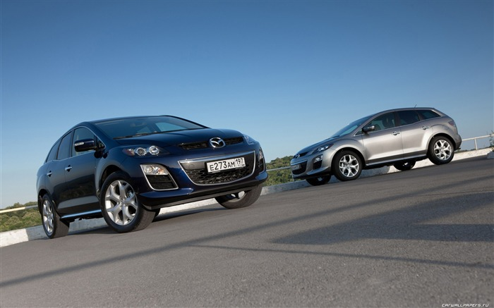 Mazda CX-7 - 2010 models SUV Wallpaper second series 08 Views:5901