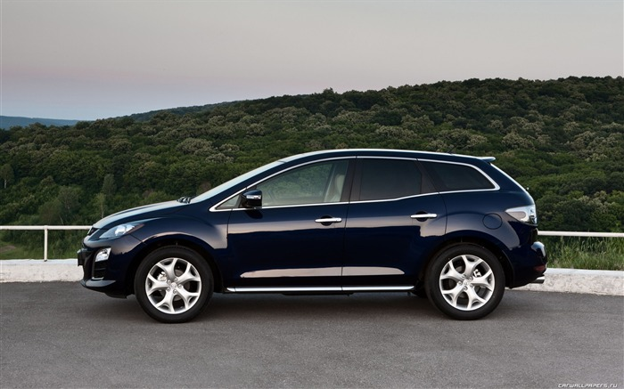 Mazda CX-7 - 2010 models SUV Wallpaper second series Views:11906