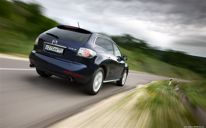 Mazda CX-7 - 2010 models SUV Wallpaper second series 16 Views:5468