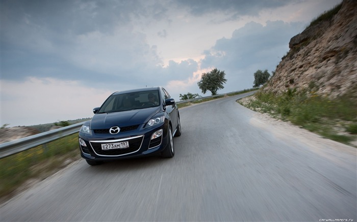 Mazda CX-7 - 2010 models SUV Wallpaper second series 20 Views:4051