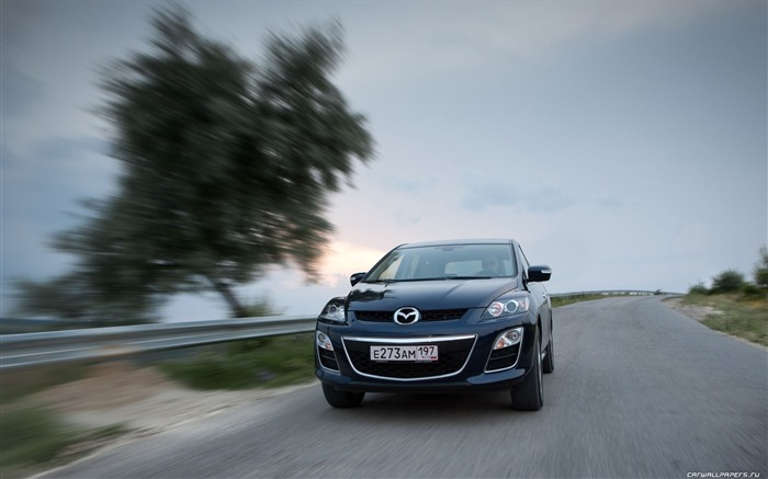 Mazda CX-7 - 2010 models SUV Wallpaper second series 22 Views:3386