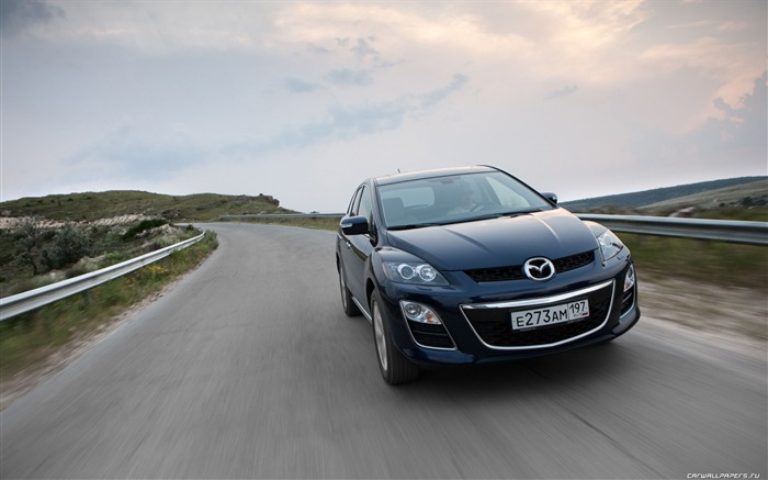 Mazda CX-7 - 2010 models SUV Wallpaper second series 23 Views:3421
