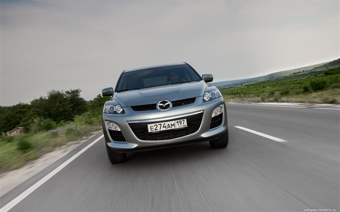 Mazda CX-7 - 2010 models SUV Wallpaper second series Views:6311
