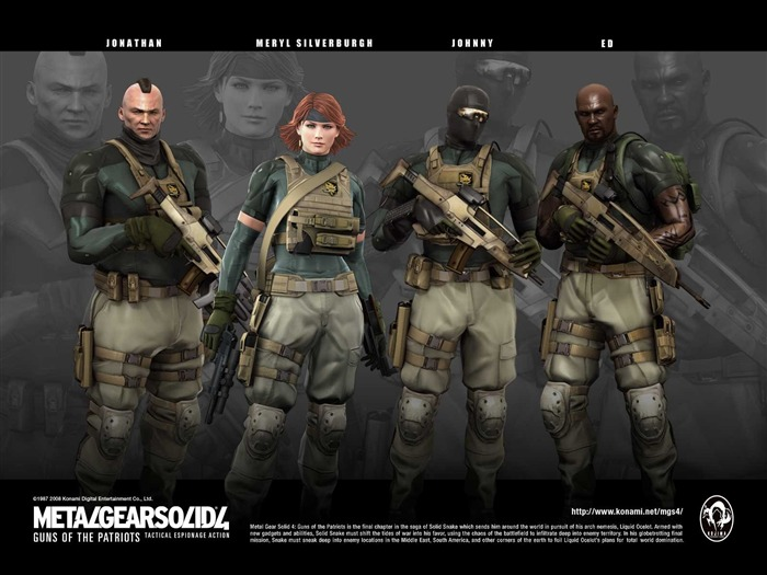 Metal Gear Solid 4-Guns of the Patriots wallpaper 04 Views:13795 Date:7/19/2011 6:04:39 AM