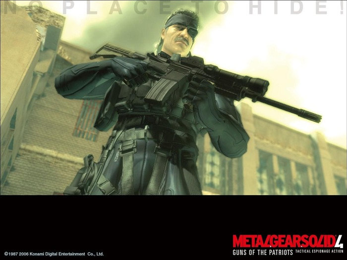 Metal Gear Solid 4-Guns of the Patriots wallpaper 05 Views:8115 Date:7/19/2011 6:04:57 AM