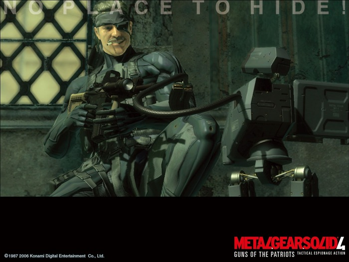 Metal Gear Solid 4-Guns of the Patriots wallpaper 06 Views:6516 Date:7/19/2011 6:05:21 AM