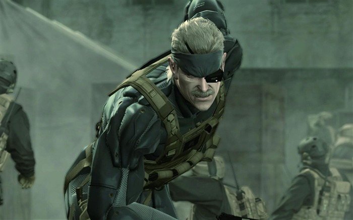 Metal Gear Solid 4-Guns of the Patriots wallpaper 08 Views:8891 Date:7/19/2011 6:06:01 AM