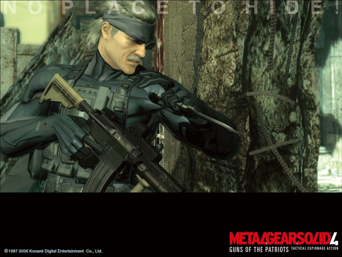 Metal Gear Solid 4-Guns of the Patriots wallpaper 13 Views:10046 Date:7/19/2011 6:07:56 AM