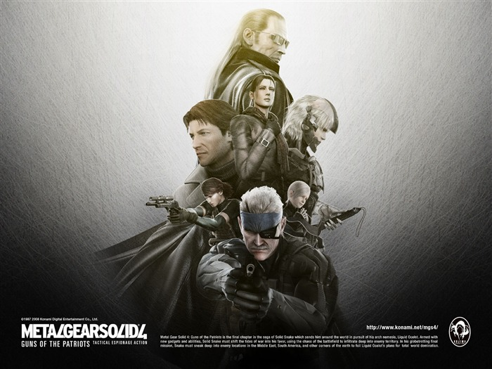 Metal Gear Solid 4-Guns of the Patriots wallpaper 16 Views:13350 Date:7/19/2011 6:09:27 AM