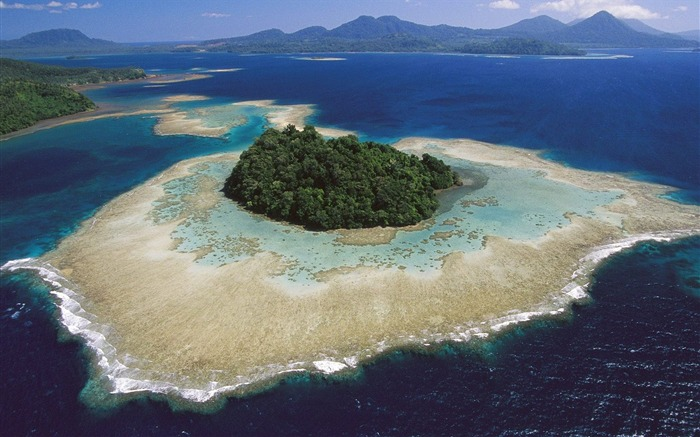 Papua New Guinea- New Britain Island-Kimbe Bay wallpaper Views:5210