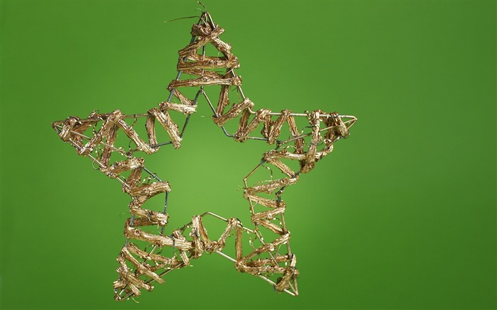 Picture- Christmas Star ornament- Christmas objects Wallpaper 01 Views:6643